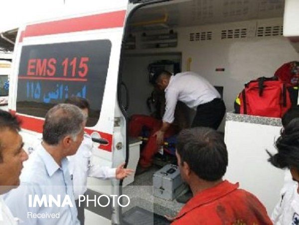 خدمترسانی اورژانس به بیش از ۲۳ هزار بیمار کرونایی در اصفهان