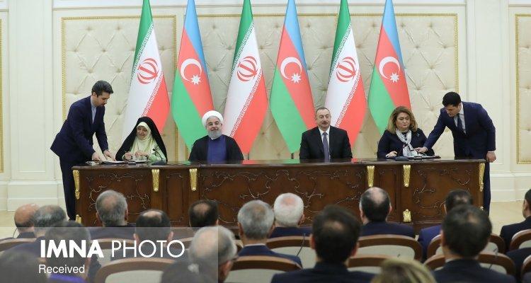 تهران و باکو ۸ سند و یادداشت تفاهم همکاری امضا کردند