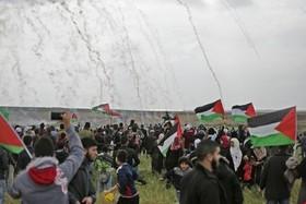 ۱۱۴۳ زخمی در «جمعه کارگران» در غزه