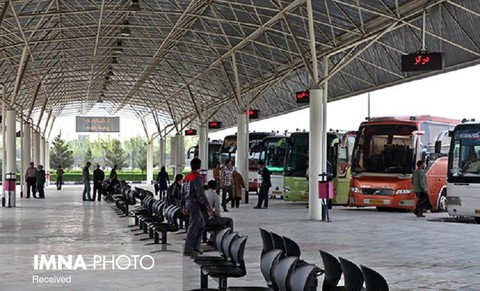 پایانه های مسافربری مشهد