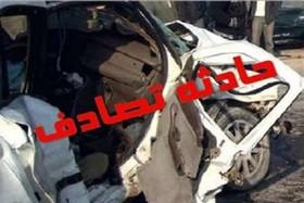 تصادف تریلر با ۲ خودرو یک کشته و ۶ مجروح برجای گذاشت