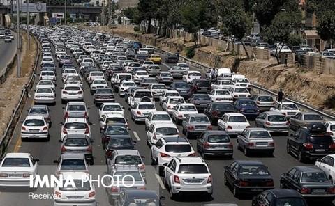 اعلام آخرین وضعیت ترافیکی در محورهای مواصلاتی کشور