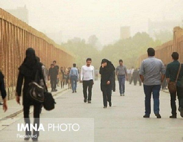 پیشبینی وزش باد و گرد و خاک در مناطق شرقی و مرکزی اصفهان
