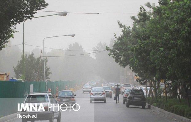 پیشبینی وزش باد و خیزش گرد و خاک در شرق اصفهان