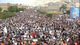 خروش یمنی ها علیه ائتلاف آمریکایی - عربی