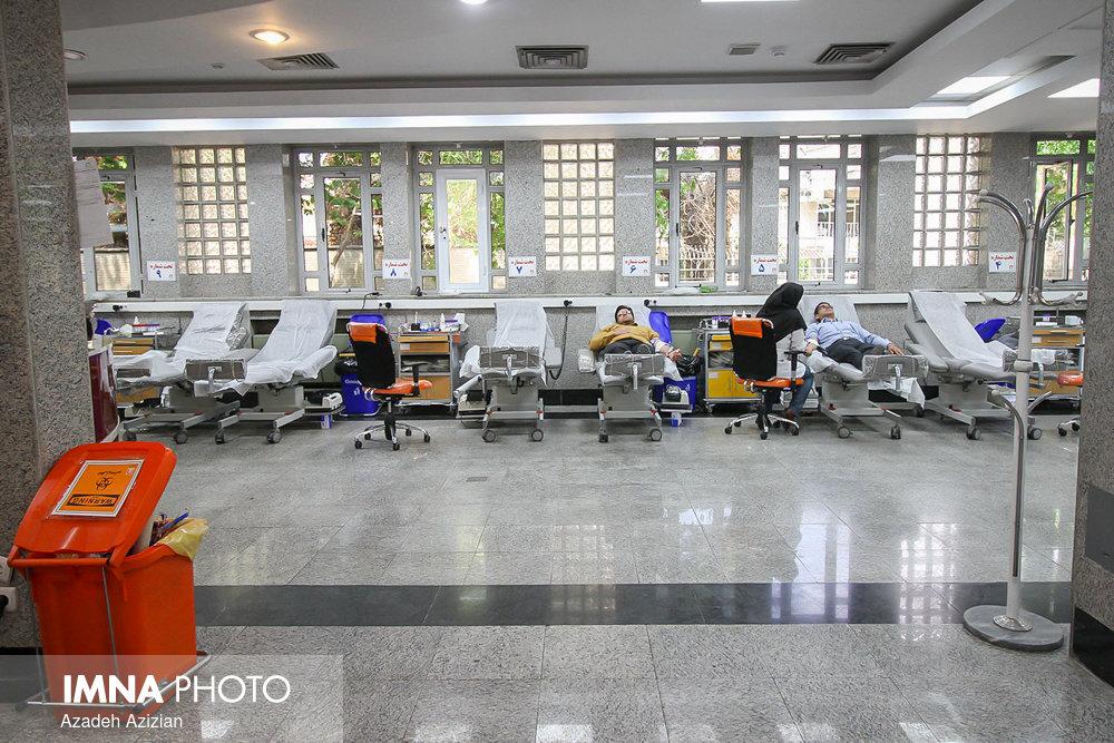 مراجعات اهدای خون در اصفهان به شدت کاهش یافته است