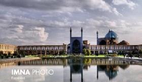 وزش باد و بارش پراکنده در اصفهان