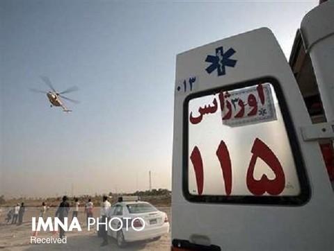 اعزام یک تیم اورژانس شهرضا به مناطق سیلزده خوزستان