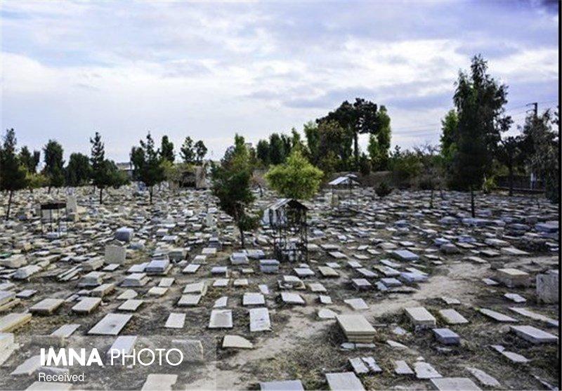 آرامگاههای آسیب دیده در بهشتآباد اهواز ترمیم میشود