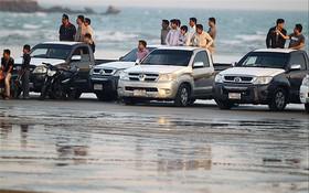 تردد خودروها در سواحل بندرعباس محدود شود