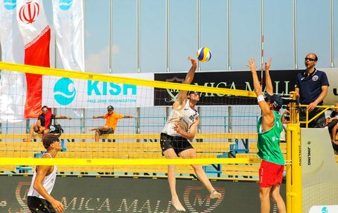 برنامه مسابقات والیبال ساحلی مشخص شد