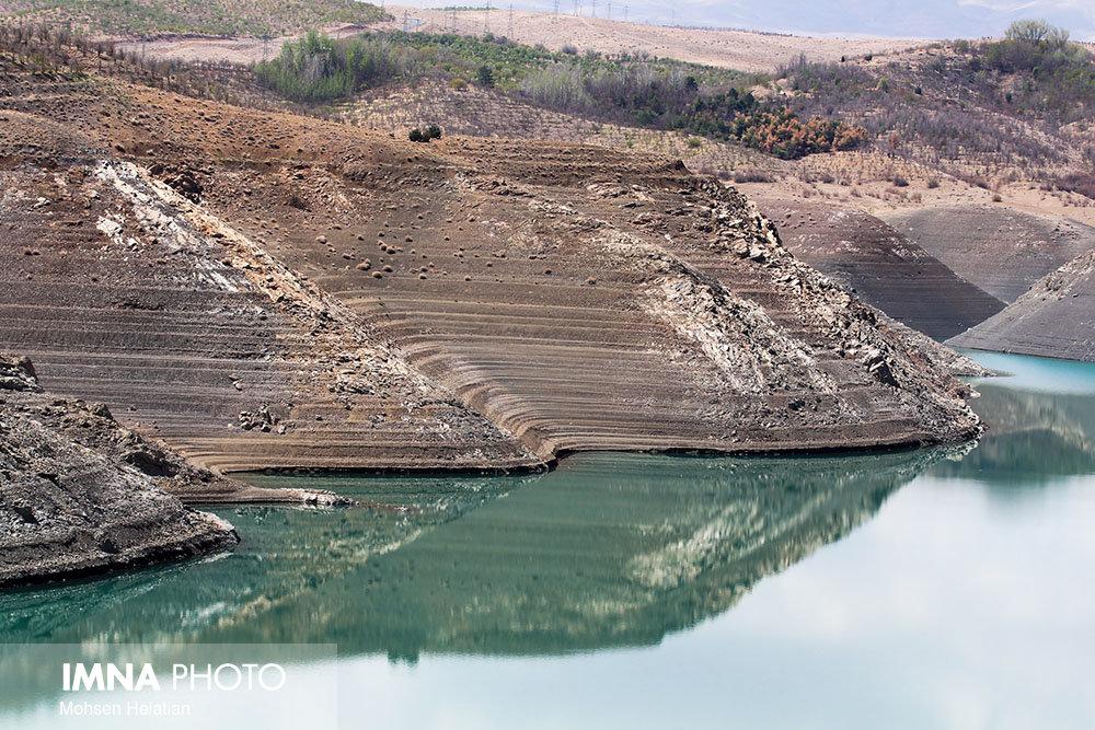 ۶۶ سد بزرگ کشور کمتر از۴۰ درصد آب دارند