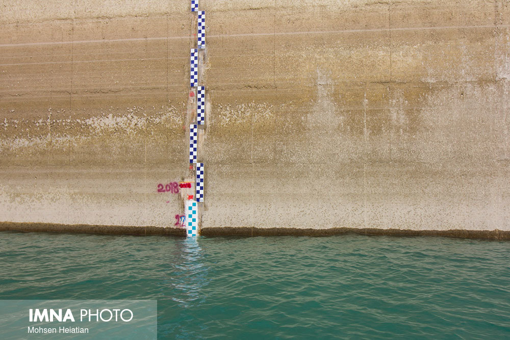 74% of the Zayandeh Rood dam volume is empty!