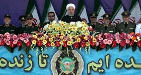 ایران به قدرت نظامی توام باتنش زدایی ادامه می دهد