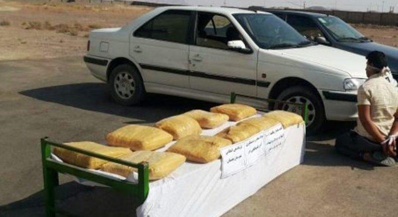 کشف بیش از ۲۲ کیلو تریاک در سمیرم