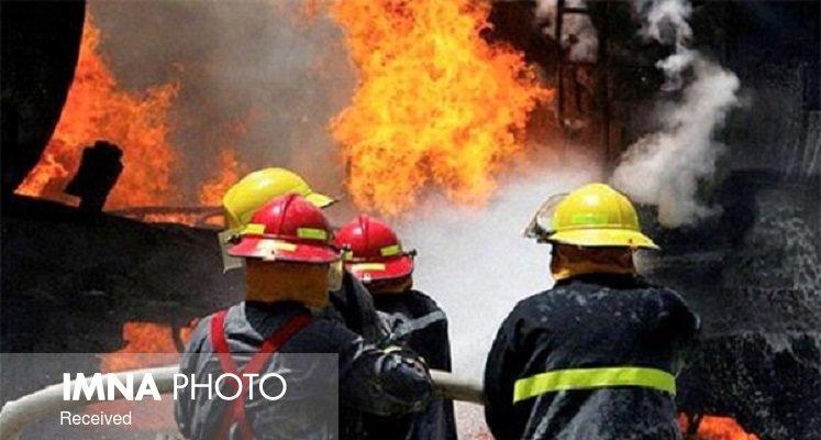 انجام بیش از ۱۸ عملیات مهار آتش در اهواز