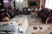 دیدار با جانباز 70 در حاج کاظم سلیمیان