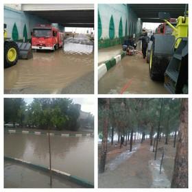 بارش ۱۷ میلی متری باران در نطنز