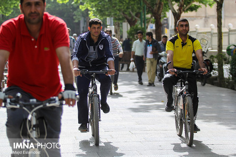 Isfahan will be the city of bicycles by the year 2021