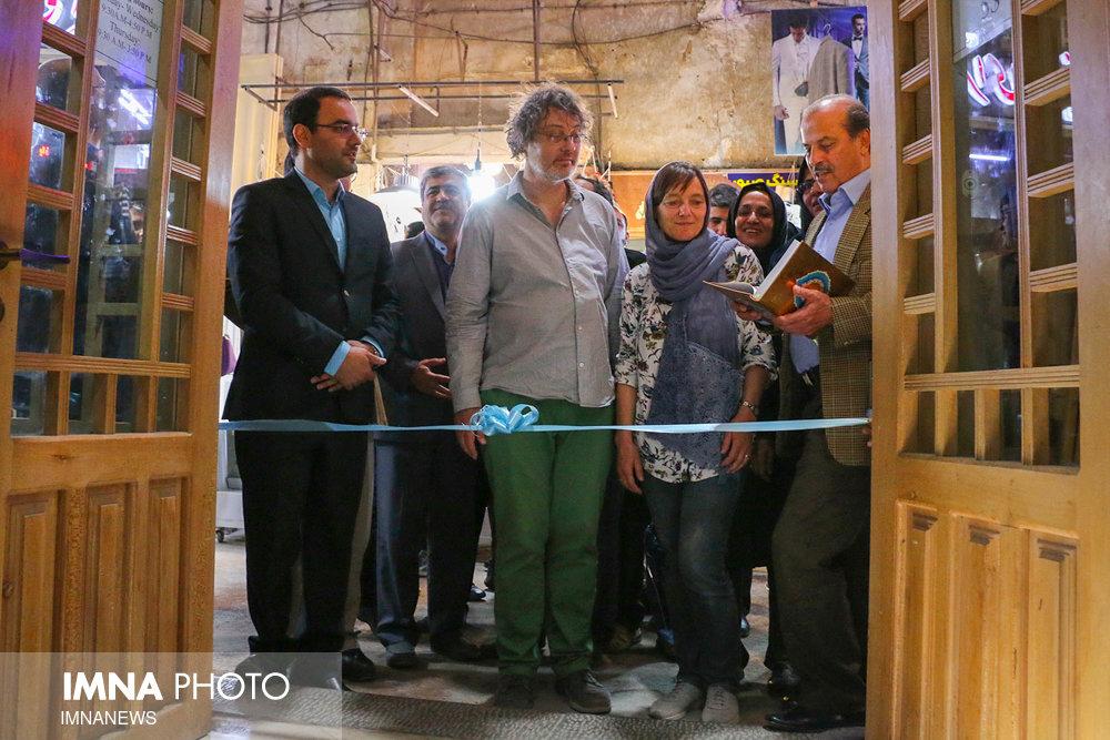 افتتاح ورودی اصلی موزه عصارخانه شاهی