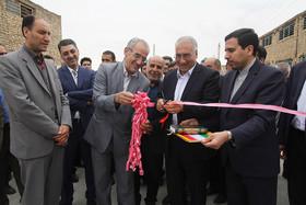 افتتاح پروژه های میدان مرکزی میوه و تره بار