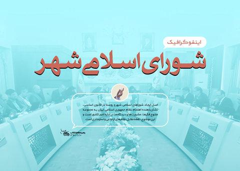 اینفوگرافیک شورای اسلامی شهر