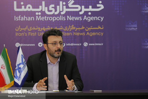 بازديد شهردار منطقه دو از خبرگزاري ايمنا