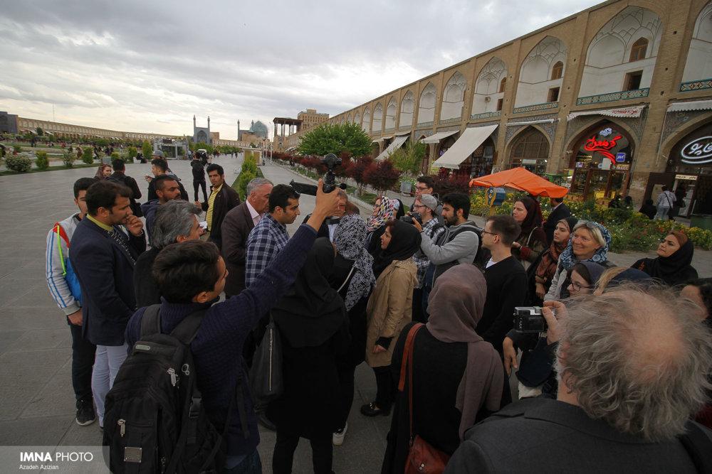 میزبانی دانشگاه فرهنگ و هنر اصفهان از دانشجویان فرایبورگ