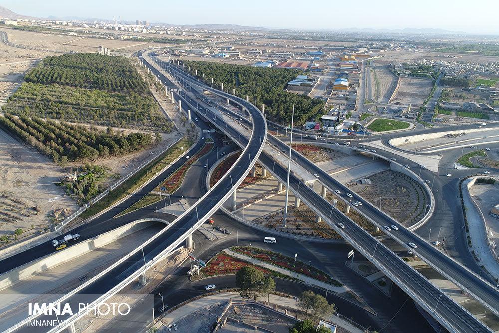 افزایش ایمنی بزرگراه امیرکبیر در شمال اصفهان