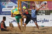 مسابقات هندبال ساحلی به مناسبت هفته فرهنگی اصفهان