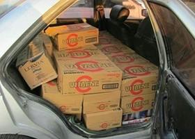 کشف محموله ۱۰۰ میلیونی نوشیدنی خارجی در سمیرم