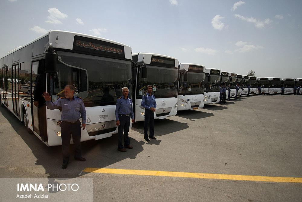 ۱۲۰ اتوبوس شهری اصفهان به مزایده گذاشته میشود