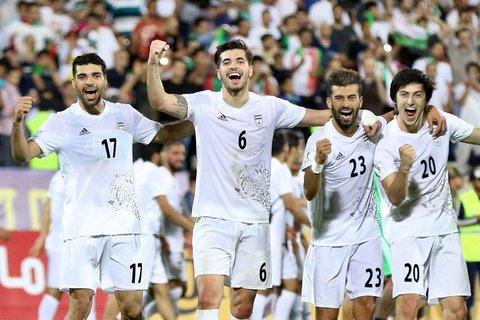 پیام تبریک AFC به ایران