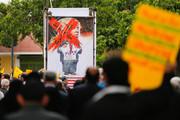 راهپیمایی اعتراضی به سیاست های خصمانه امریکا در قبال برجام