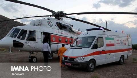 پرواز دو بالگرد اورژانس به مقصد اصفهان