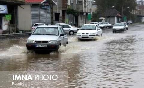 بارشهای سیلآسا در ۸ استان
