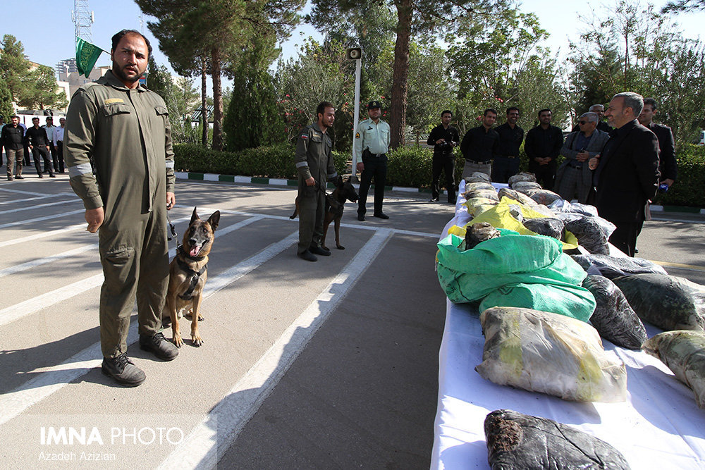 کشف ۲۲ تن انواع مواد مخدر در استان اصفهان