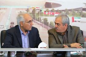 جلسه بررسی روند پیشرفت پروژه مرکز همایش های بین المللی اصفهان