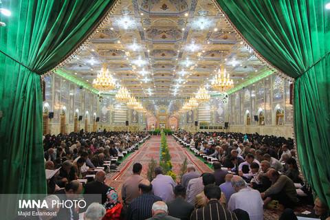 جزخوانی قرآن کریم در مسجد رضوی