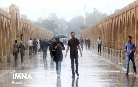 بارشهای پاییزی فراتر از نرمال/بارش زمستان اصفهان مطلوب نیست