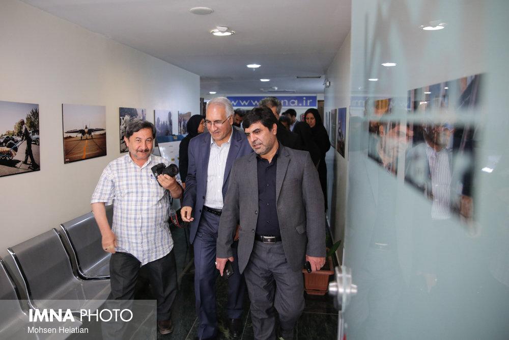 بازدید شهردار اصفهان از مجتمع مطبوعاتی
