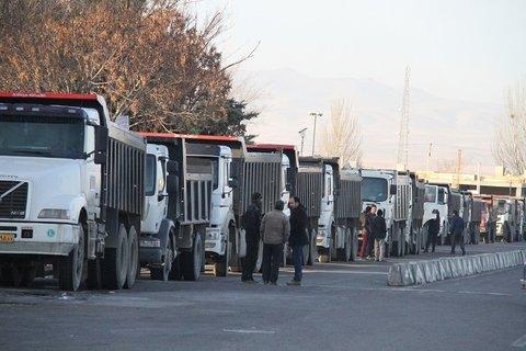 تجمع کامیون داران