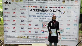 موسویان در مسابقات بین المللی جهت یابی بر سکوی سوم ایستاد