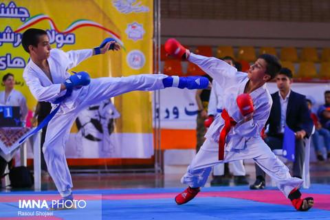 ۲۳۰ شرکت کننده در مسابقات کاراته مولای عرشیان