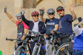 همایش دوچرخه سواری به مناسبت هفته بدون دخانیات