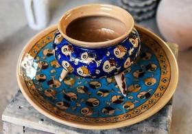 سفال شهرضا در نمایشگاه ملی صنایع دستی