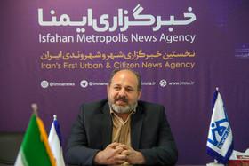 بازدید مدیر منطقه ۱۱ شهرداری اصفهان از خبرگزاری ایمنا