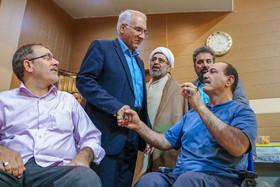 دیدار شهردار و نمایندگان اصلاح طلب اصفهان با جانبازان هشت سال دفاع مقدس
