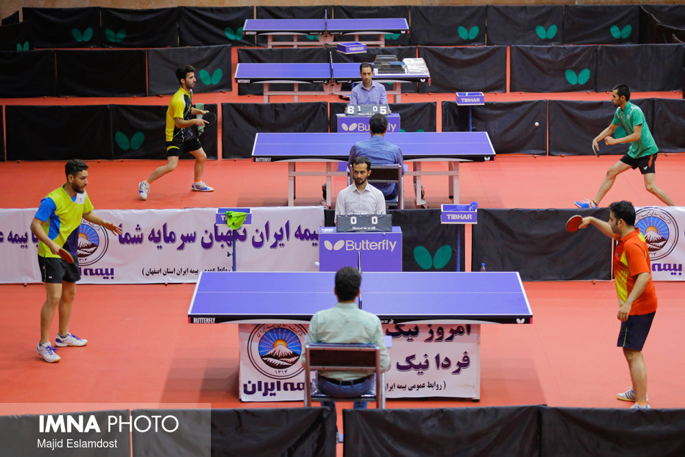 مرحله پلیآف لیگ برتر تنیس روی میز لغو شد