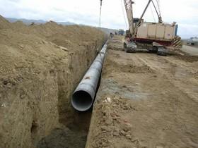 کاهش ۱۰درصدی هدر رفت آب با اصلاح شبکه های آبرسانی دهاقان